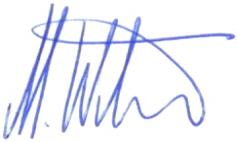 Unterschrift Marco